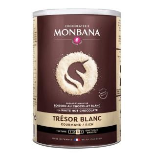 Trésor Blanc - Boite 500g de préparation Monbana