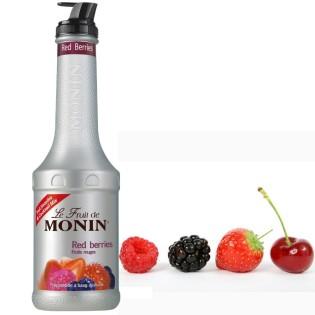 FRUITS ROUGES - Purée de fruits MONIN 1L