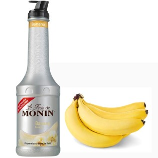 BANANE - Purée de fruits MONIN 1L