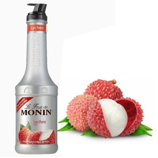 LITCHI - Purée de fruits MONIN 1L