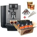 X6 Dark Inox - Machine à café Automatique JURA