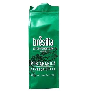 PUR ARABICA BLOND GRAINS 250g - Café Brésilia